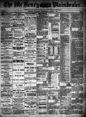 McHenry Plaindealer (McHenry, IL), 8 Aug 1894