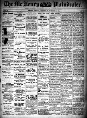 McHenry Plaindealer (McHenry, IL), 21 Nov 1894