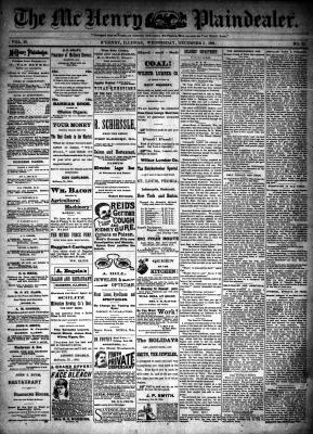 McHenry Plaindealer (McHenry, IL), 5 Dec 1894