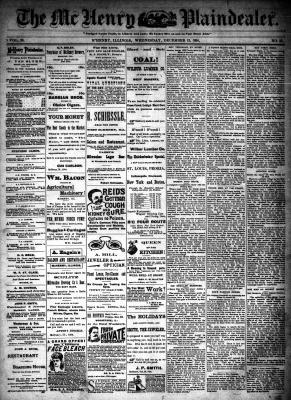 McHenry Plaindealer (McHenry, IL), 12 Dec 1894