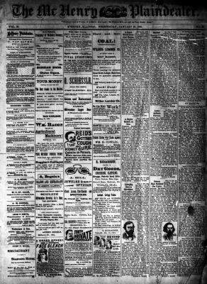 McHenry Plaindealer (McHenry, IL), 23 Jan 1895