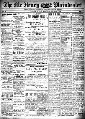 McHenry Plaindealer (McHenry, IL), 19 Oct 1898