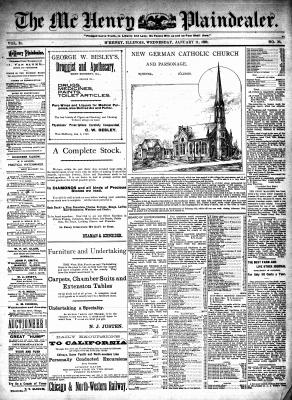 McHenry Plaindealer (McHenry, IL), 11 Jan 1899