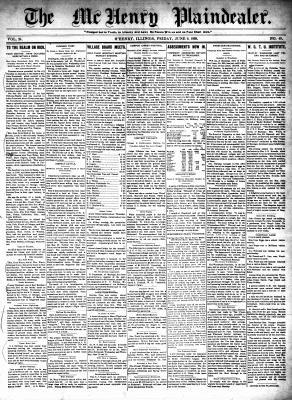 McHenry Plaindealer (McHenry, IL), 9 Jun 1899