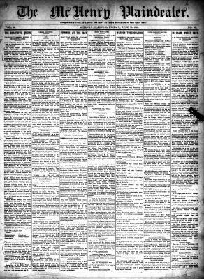 McHenry Plaindealer (McHenry, IL), 30 Jun 1899