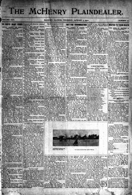McHenry Plaindealer (McHenry, IL), 4 Jan 1900