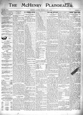 McHenry Plaindealer (McHenry, IL), 2 May 1901