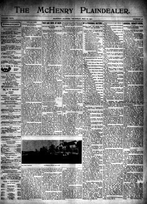 McHenry Plaindealer (McHenry, IL), 16 May 1901
