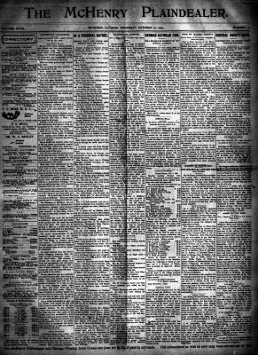McHenry Plaindealer (McHenry, IL), 10 Oct 1901