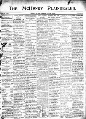 McHenry Plaindealer (McHenry, IL), 2 Jan 1902