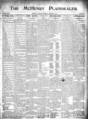 McHenry Plaindealer (McHenry, IL), 16 Jan 1902