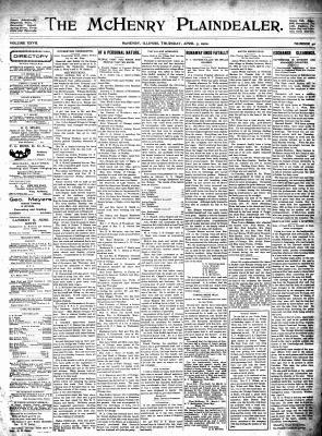 McHenry Plaindealer (McHenry, IL), 3 Apr 1902