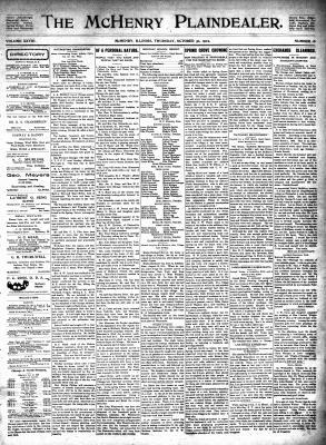 McHenry Plaindealer (McHenry, IL), 30 Oct 1902