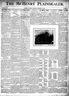 McHenry Plaindealer (McHenry, IL), 26 Feb 1903