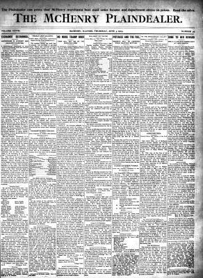 McHenry Plaindealer (McHenry, IL), 4 Jun 1903