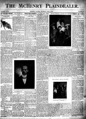 McHenry Plaindealer (McHenry, IL), 11 Jun 1903