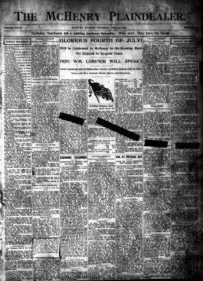 McHenry Plaindealer (McHenry, IL), 25 Jun 1903