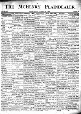 McHenry Plaindealer (McHenry, IL), 5 May 1904