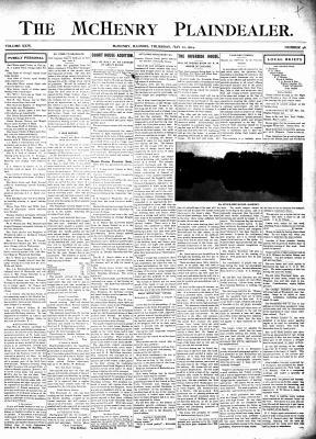 McHenry Plaindealer (McHenry, IL), 12 May 1904