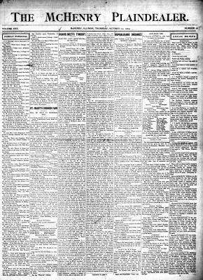 McHenry Plaindealer (McHenry, IL), 13 Oct 1904