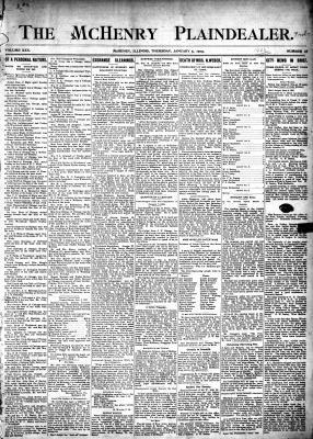 McHenry Plaindealer (McHenry, IL), 5 Jan 1905