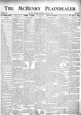 McHenry Plaindealer (McHenry, IL), 26 Jan 1905