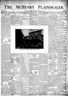 McHenry Plaindealer (McHenry, IL), 2 Feb 1905