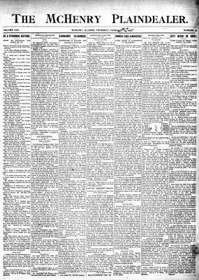 McHenry Plaindealer (McHenry, IL), 23 Feb 1905