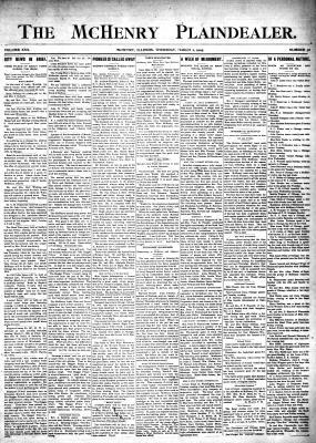 McHenry Plaindealer (McHenry, IL), 2 Mar 1905