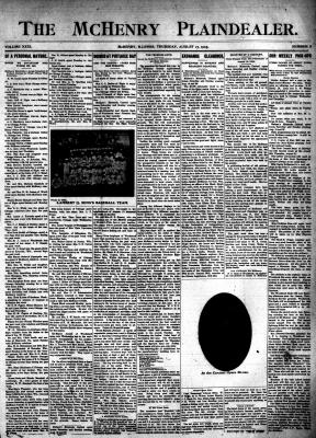 McHenry Plaindealer (McHenry, IL), 17 Aug 1905