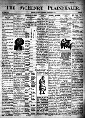 McHenry Plaindealer (McHenry, IL), 2 Nov 1905