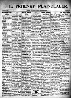 McHenry Plaindealer (McHenry, IL), 11 Oct 1906
