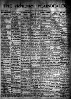 McHenry Plaindealer (McHenry, IL), 27 Dec 1906