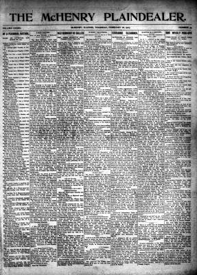 McHenry Plaindealer (McHenry, IL), 28 Feb 1907