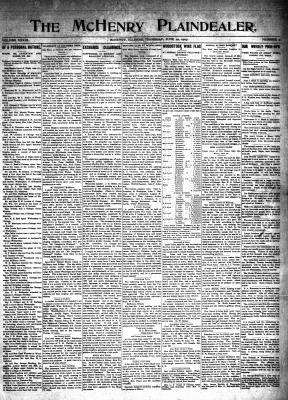 McHenry Plaindealer (McHenry, IL), 20 Jun 1907