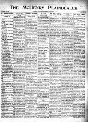 McHenry Plaindealer (McHenry, IL), 17 Oct 1907