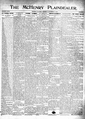McHenry Plaindealer (McHenry, IL), 12 Dec 1907