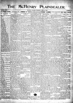 McHenry Plaindealer (McHenry, IL), 30 Apr 1908
