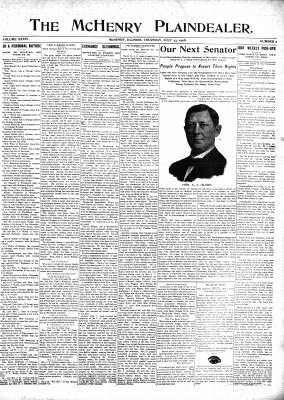 McHenry Plaindealer (McHenry, IL), 23 Jul 1908