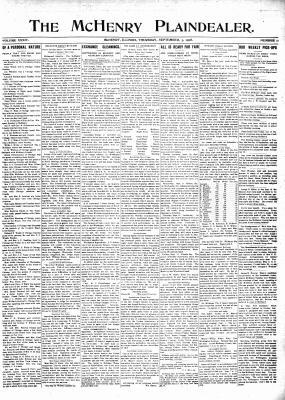 McHenry Plaindealer (McHenry, IL), 3 Sep 1908