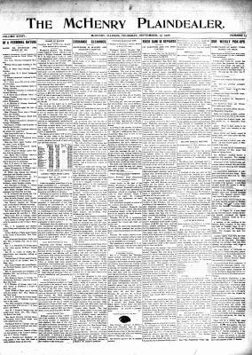 McHenry Plaindealer (McHenry, IL), 17 Sep 1908