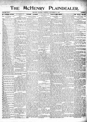 McHenry Plaindealer (McHenry, IL), 24 Sep 1908