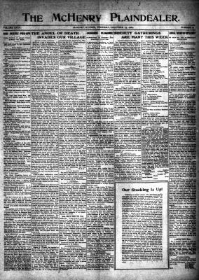 McHenry Plaindealer (McHenry, IL), 23 Dec 1909