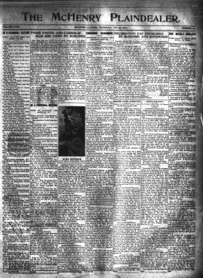 McHenry Plaindealer (McHenry, IL), 26 May 1910