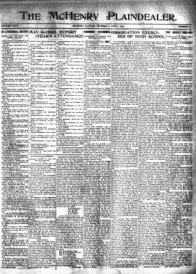 McHenry Plaindealer (McHenry, IL), 2 Jun 1910
