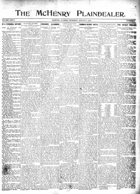 McHenry Plaindealer (McHenry, IL), 11 Aug 1910