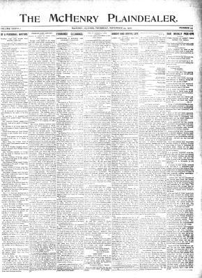 McHenry Plaindealer (McHenry, IL), 24 Nov 1890