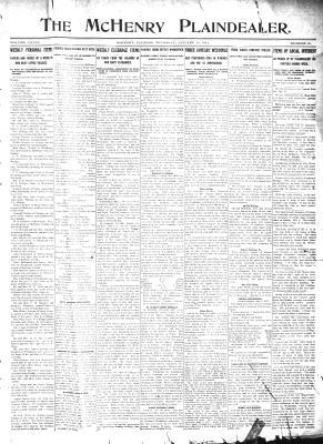 McHenry Plaindealer (McHenry, IL), 12 Jan 1911