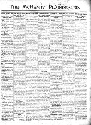 McHenry Plaindealer (McHenry, IL), 13 Apr 1911