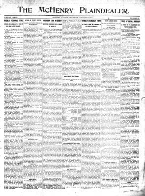 McHenry Plaindealer (McHenry, IL), 18 Jan 1912